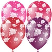 шары с розой воздушные шары, купить недорого
