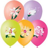 шары ассорти цветок доставка шаров, воздушные шары, шарики с гелием, воздушные шары, воздушные шары спб
