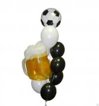 фонтан «по пиву» доставка шаров, воздушные шары, шарики с гелием, воздушные шары, воздушные шары спб