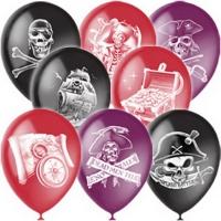 шары пираты ассорти доставка шаров, воздушные шары, шарики с гелием, воздушные шары, воздушные шары спб