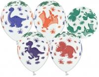 динозаврики ассорти доставка шаров, воздушные шары, шарики с гелием, воздушные шары, воздушные шары спб