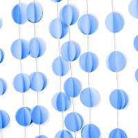 подвеска голубые круги доставка шаров, воздушные шары, шарики с гелием, воздушные шары, воздушные шары спб