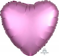 сердце сатин фламинго доставка шаров, воздушные шары, шарики с гелием, воздушные шары, воздушные шары спб