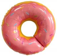шар «пончик» доставка шаров, воздушные шары, шарики с гелием, воздушные шары, воздушные шары спб