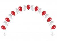 цепочка из гелиевых шаров доставка шаров, воздушные шары, шарики с гелием, воздушные шары, воздушные шары спб