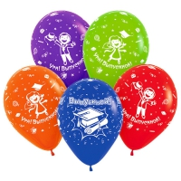 шар «прощай школа» доставка шаров, воздушные шары, шарики с гелием, воздушные шары, воздушные шары спб
