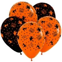 шар «хэллоуин» доставка шаров, воздушные шары, шарики с гелием, воздушные шары, воздушные шары спб