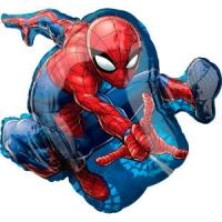 шар «человек - паук 01» доставка шаров, воздушные шары, шарики с гелием, воздушные шары, воздушные шары спб