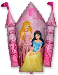 шар замок принцессы доставка шаров, воздушные шары, шарики с гелием, воздушные шары, воздушные шары спб