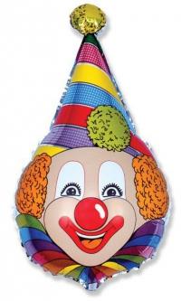 шар клоун доставка шаров, воздушные шары, шарики с гелием, воздушные шары, воздушные шары спб