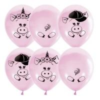 шар «хрюшки» доставка шаров, воздушные шары, шарики с гелием, воздушные шары, воздушные шары спб