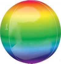 шар сфера «радуга» доставка шаров, воздушные шары, шарики с гелием, воздушные шары, воздушные шары спб