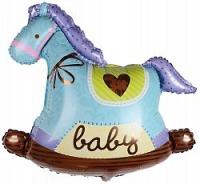 шар качалка - лошадка доставка шаров, воздушные шары, шарики с гелием, воздушные шары, воздушные шары спб