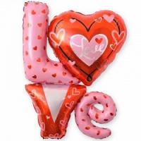 шар «love» доставка шаров, воздушные шары, шарики с гелием, воздушные шары, воздушные шары спб