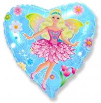фея в цветах доставка шаров, воздушные шары, шарики с гелием, воздушные шары, воздушные шары спб