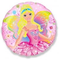 фея в розовом доставка шаров, воздушные шары, шарики с гелием, воздушные шары, воздушные шары спб