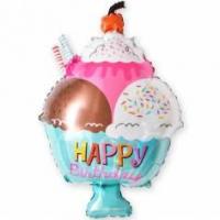 шар Мороженное с Днем Рождения