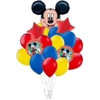 в стиле микки доставка шаров, воздушные шары, шарики с гелием, воздушные шары, воздушные шары спб