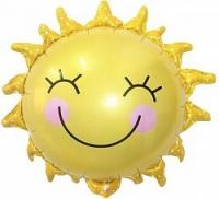 шар «солнышко» доставка шаров, воздушные шары, шарики с гелием, воздушные шары, воздушные шары спб