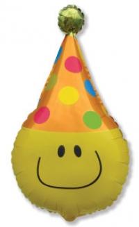 весёлый смайлик доставка шаров, воздушные шары, шарики с гелием, воздушные шары, воздушные шары спб