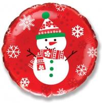 шар снеговик воздушные шары, купить недорого