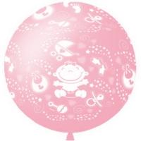 шар гигант «малыш» доставка шаров, воздушные шары, шарики с гелием, воздушные шары, воздушные шары спб