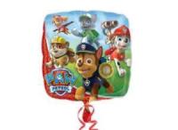 шар «щенячий патруль» квадрат доставка шаров, воздушные шары, шарики с гелием, воздушные шары, воздушные шары спб