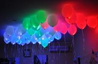 шар светящийся с пультом доставка шаров, воздушные шары, шарики с гелием, воздушные шары, воздушные шары спб