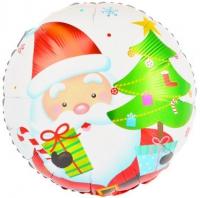 шар дед мороз доставка шаров, воздушные шары, шарики с гелием, воздушные шары, воздушные шары спб