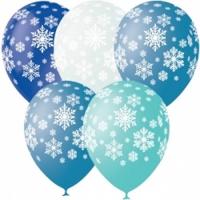 шар «снежинки» доставка шаров, воздушные шары, шарики с гелием, воздушные шары, воздушные шары спб