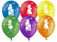 принцессы ассорти воздушные шары, купить недорого