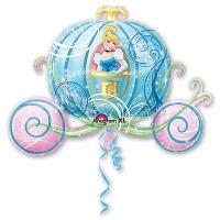 шар золушка в карете доставка шаров, воздушные шары, шарики с гелием, воздушные шары, воздушные шары спб