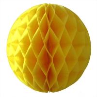 шар-сота жёлтый доставка шаров, воздушные шары, шарики с гелием, воздушные шары, воздушные шары спб