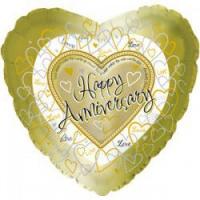 шар «годовщина» доставка шаров, воздушные шары, шарики с гелием, воздушные шары, воздушные шары спб