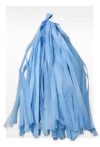 гирлянда тассел голубая доставка шаров, воздушные шары, шарики с гелием, воздушные шары, воздушные шары спб