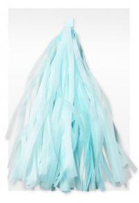 гирлянда тассел светло-голубая доставка шаров, воздушные шары, шарики с гелием, воздушные шары, воздушные шары спб