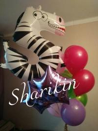 цифры животные доставка шаров, воздушные шары, шарики с гелием, воздушные шары, воздушные шары спб