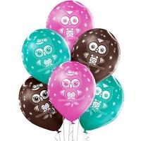 шар «совы» доставка шаров, воздушные шары, шарики с гелием, воздушные шары, воздушные шары спб