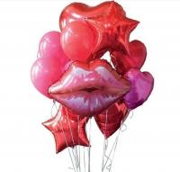 губы доставка шаров, воздушные шары, шарики с гелием, воздушные шары, воздушные шары спб