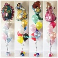 набор шаров «детский» доставка шаров, воздушные шары, шарики с гелием, воздушные шары, воздушные шары спб