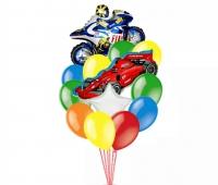 набор из шаров «скорость» доставка шаров, воздушные шары, шарики с гелием, воздушные шары, воздушные шары спб