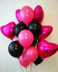 набор шаров «романтика» доставка шаров, воздушные шары, шарики с гелием, воздушные шары, воздушные шары спб