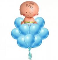 выписка малыша доставка шаров, воздушные шары, шарики с гелием, воздушные шары, воздушные шары спб