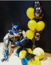 бэтмен - биг доставка шаров, воздушные шары, шарики с гелием, воздушные шары, воздушные шары спб