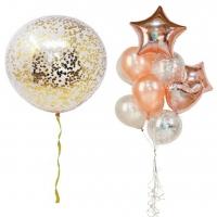 набор шаров «мечтательный» доставка шаров, воздушные шары, шарики с гелием, воздушные шары, воздушные шары спб
