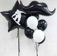 набор шаров «сноуборд» доставка шаров, воздушные шары, шарики с гелием, воздушные шары, воздушные шары спб