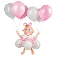 фигура из шаров « малыш с шариками» доставка шаров, воздушные шары, шарики с гелием, воздушные шары, воздушные шары спб