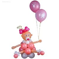 фигура из шаров «малышок» доставка шаров, воздушные шары, шарики с гелием, воздушные шары, воздушные шары спб