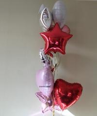 сет 1 доставка шаров, воздушные шары, шарики с гелием, воздушные шары, воздушные шары спб