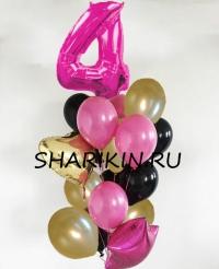 шикарное поздравление доставка шаров, воздушные шары, шарики с гелием, воздушные шары, воздушные шары спб